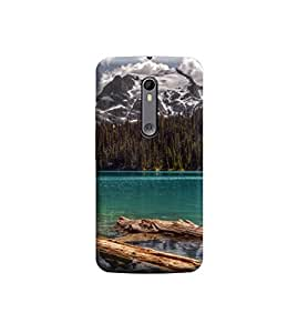 TransMute Premium Printed Back Case Cover With Full protection For Moto X Style (Designer Case)