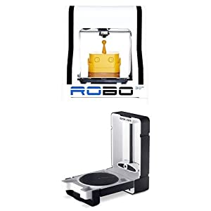 ROBO 3D R1 Plus Printer + Matter and Form 3D Scanner Bundle Package