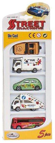 Imagen 1 de Cosas 703018 - Caja 5 Vehiculos - Metal - Surtidos