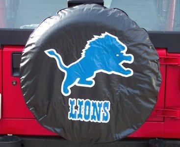 Fremont Die Detroit Lions Universal Fit Tire Cover (Lion Spare Tire Cover compare prices)