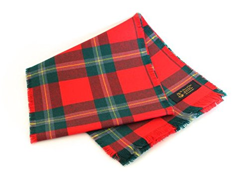 authentic-tartan-100-wool-plain-full-fringed-sash-maclean-of-lochuie