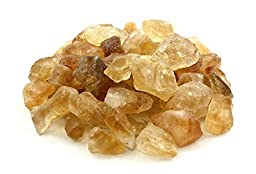 Crystal Allies Materials: 1lb Bulk Rough Citrine Stones from Brazil - 1/2\
