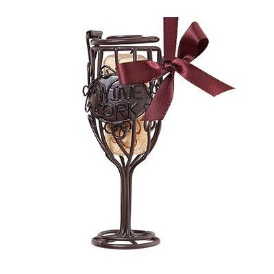 Ornament Cork Cage Wine Glass