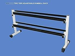 Dumbbell Rack 2 Tier 54\