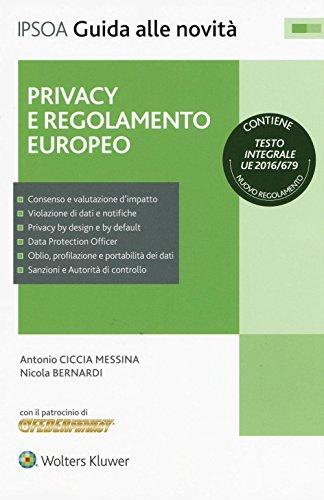 Privacy e regolamento europeo