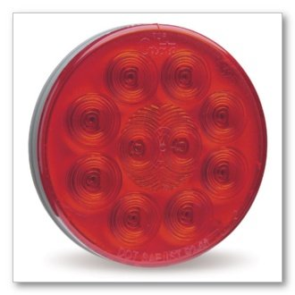 """Grote 53532 Supernova 4"""" 10-Diode Pattern Stop / Tail / Turn Led Lamp"""