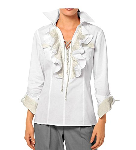 Alba Moda - Camicia -  donna bianco 44