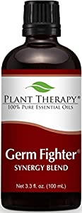 Plant Therapy Essential Oils, 100% Pure Germ Fighter Synergy Essential Oil Blend, Undiluted