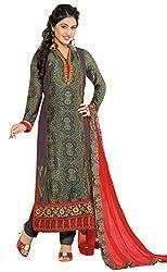 Mahaveer Fashion Women's Dress Material (9780_25_81007_Grey_Free Size)
