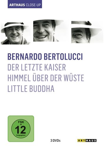 Bernardo Bertolucci - Arthaus Close-Up ( Der letzte Kaiser / Himmel über der Wüste / Little Buddha ) [3 DVDs]