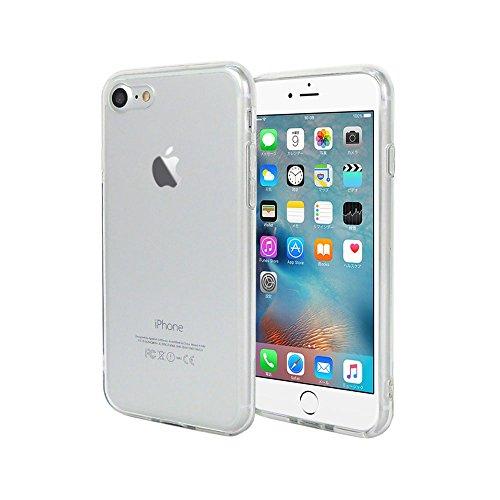 iPhone7ケース ハイブリッド | iPhone7 フルカバー ケース クリア | Provare PVIP7CHB01CR | TPU + アクリル 耐衝撃 ストラップホール付 | (iPhone7 [ ハイブリッド ], クリア)