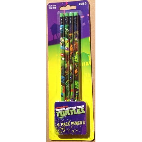 Amazon.com : TMNT Teenage Mutant Ninja Turtles No 2 Lead Wood Pencils