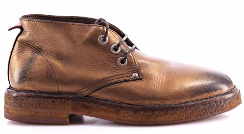 MOMA Scarpe Donna Desert Boots 72504-6E Ghost Bronzo Pelle Vintage Made In Italy