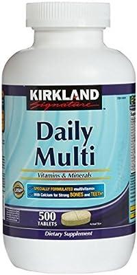 Kirkland Signature, Daily Multi Vitamins & Minerals