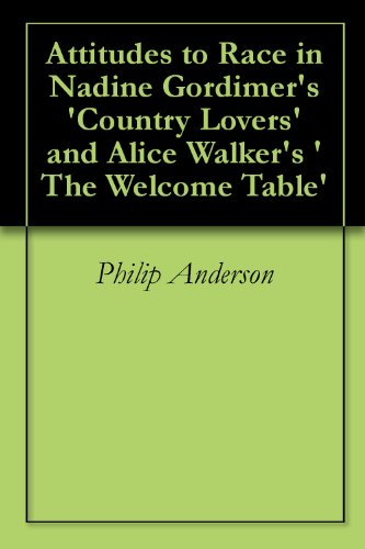 alice walker the welcome table essay Words: 953 length: 2 pages document type: essay paper #: 26878293 (1991)  anything e  full essay welcome table walker short story country lovers.