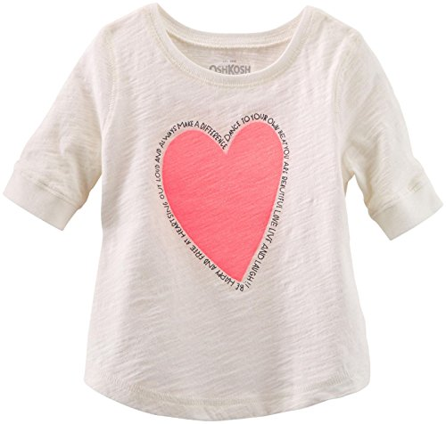 Oshkosh B'Gosh Baby Girls' Knit Top (Baby) - White - 24 Months front-12448