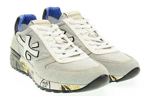 PREMIATA uomo sneakers basse MICK 1430E 45 Grigio-Ner