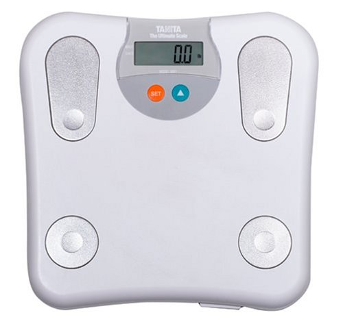 Cheap Tanita 2001W-B Ultimate Body Fat Bathroom Scale, White (2001W-B)