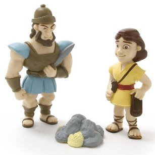 David: A Man After God's Own Heart Tales of Glory Playset