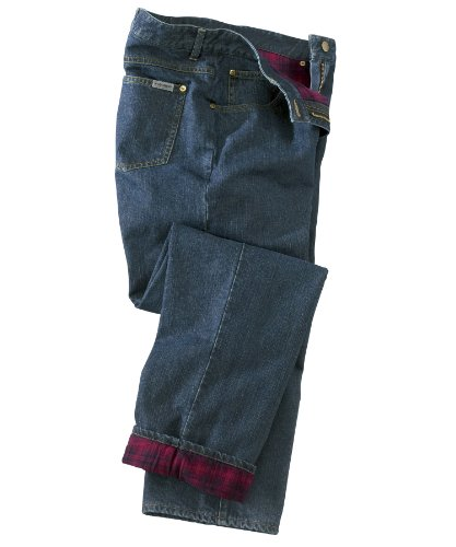 Womens Flannel Lined Jeans