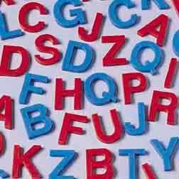 amazoncom plastic letter set for kids upper case toys With plastic letters amazon