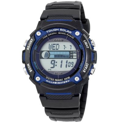 Casio WS210H-1AV Tough Solar Moon Graphs Watch Reviews