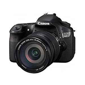 Canon EOS 60D 18 MP CMOS Digital SLR Camera with 3.0-Inch LCD & With 18-200mm Lens $1249