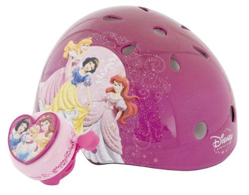 Princess Unisex-Child Hardshell Helmet with Bell (Purple)