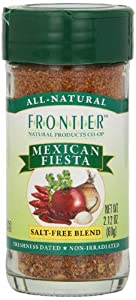 Frontier Seasoning Blends Mexican Fiesta, 2.12 Ounce Bottle (Pack of 12)