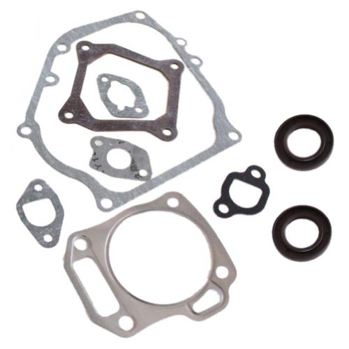 New Pack Of Cylinder Head Exhaust Muffler Full Gaskets Crankcase Oil Seal For Honda Gx160 5.5Hp Engine