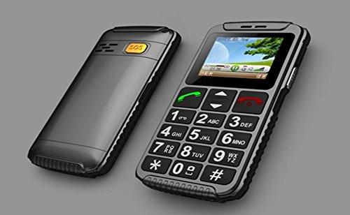 W59 Seniorenhandy Handy mit großen Tasten SOS ohne Vertrag für alle SIM Karten