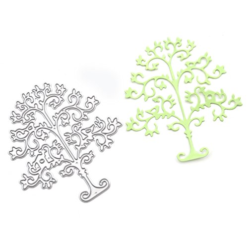 Life Tree Cutting Dies Stencil Christmas Tree Metal Template DIY Paper Card Tool 1 Pc (Chipboard Cutting Machine compare prices)
