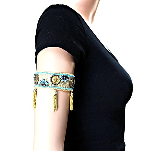 Tasseled Adjustable Arm Bracelet  - Arm Cuff Jewelry for Women