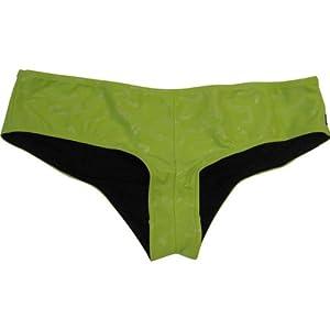Fox Racing Tail Whip Booty Short Women's Bottom Bathing Suit Swimwear - Kiwi / Large