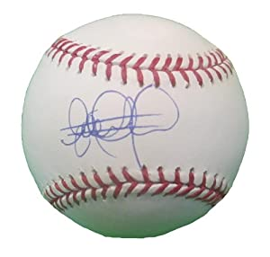 Elvis Andrus Autographed Signed Rawlings Official MLB Game Baseball, Texas Rangers,...