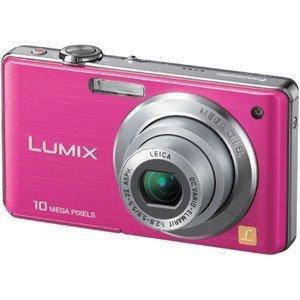 Panasonic デジタルカメラ LUMIX (ルミックス) FS7 ピンク DMC-FS7-P