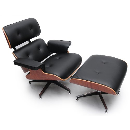 Cheap Kar l Eames Style Plywood Lounge Chair & Ottoman