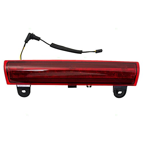 Third Brake CHMSL Center High Mount Stop Light Lamp Replacement for Chevrolet GMC SUV with Liftgate 15170955 (3rd Brake Light Gmc Yukon Denali compare prices)
