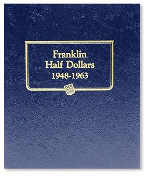 Whitman-Harris Franklin Half Dollar Album 1948-1963