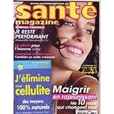 sante magazine n° 376 d'avril 2007 - maigrir en rajeunissant : les 10 jours qui changent tout (magazine)...