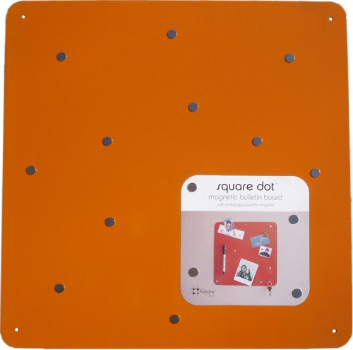 Square Dot 15 in Magnetic Bulletin Board - Orange - Buy Square Dot 15 in Magnetic Bulletin Board - Orange - Purchase Square Dot 15 in Magnetic Bulletin Board - Orange (Three by Three, Office Products, Categories, Office & School Supplies, Presentation Supplies, Presentation & Display Boards, Bulletin Boards)
