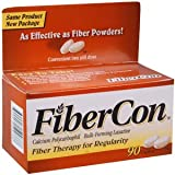 FIBERCON LAXATIVE CAP 90CP by PFIZER CONS HEALTHCARE