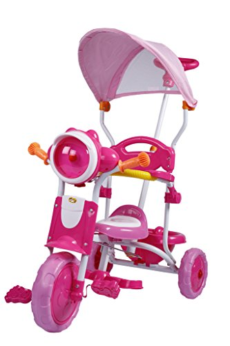 Toyhouse Easy to Steer Scooty Baby Tricycle with Canopy and Push Handle Steering system Pink Price in India | Buy Toyhouse Easy to Steer Scooty Baby ...  sc 1 st  Gludo & Toyhouse Easy to Steer Scooty Baby Tricycle with Canopy and Push ...