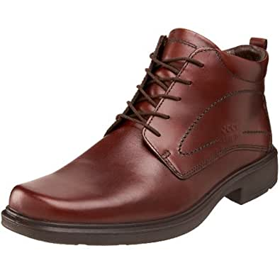 ECCO Men's Berlin Gore-Tex Boot,Rust,49 EU (US Men's 15-15.5 M)