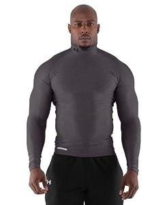 Under Armour Men's ColdGear® Evo Long Sleeve Compression Mock Large Carbon Heather