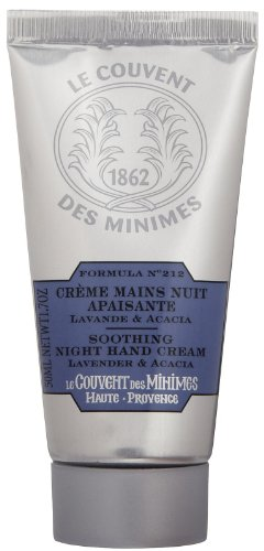 Le Couvent des Minimes Soothing Night Hand Cream, Lavender & Acacia, 1.7 oz