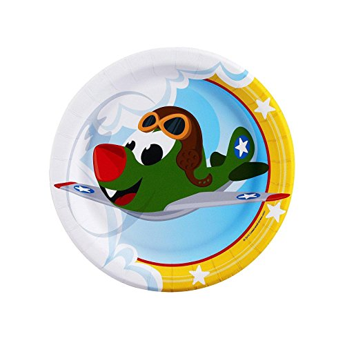 Airplane Adventure Dessert Plates (8)