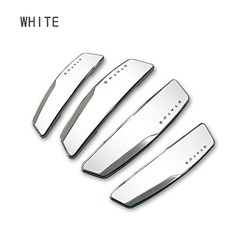 AUTOCARWINNER Status White High Glossy Slim Door Edge Guards Set of 4-(Made in KOREA) –