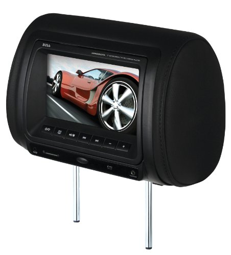 BOSS Audio HIR9BGTA Mobile-Video headrest 9-inch Screen Monitor DVD/CD/USB/SD/MP4/MP3 Player with Remote