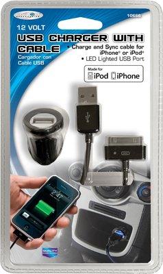 Custom Accessories 10666 Car iPod/iPhone USB